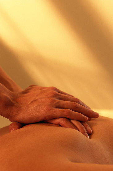 Behandlande massage